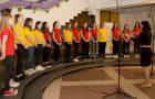 Utrinki iz revije mladinskih pevskih zborov